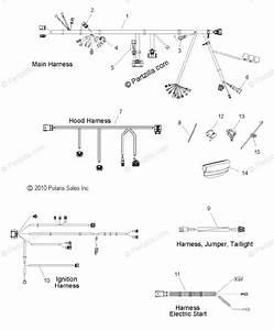 Polaris Snowmobile 2012 Oem Parts Diagram For Electrical
