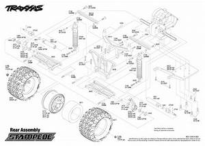 Traxxas 1  10 Scale Stampede Xl-5 2wd Monster Truck