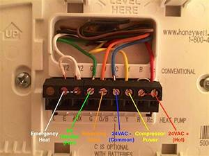 Wiring Diagram For A Honeywell Rth3100c Thermostat
