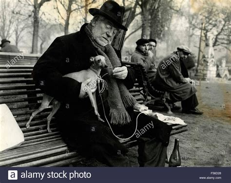 jean gabin actor french actor jean gabin with an italian greyhound in a