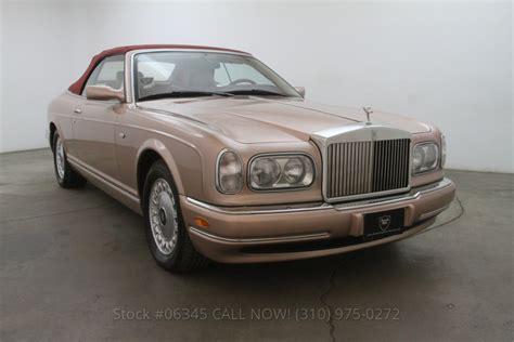2001 Rolls Royce Corniche by 2001 Rolls Royce Corniche Convertible Beverly Car Club