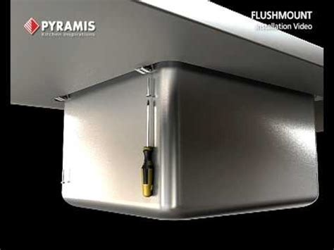 Pyramis Flushmount Sink Installation Video   YouTube