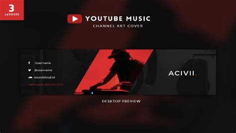 youtube banner art templates  sample