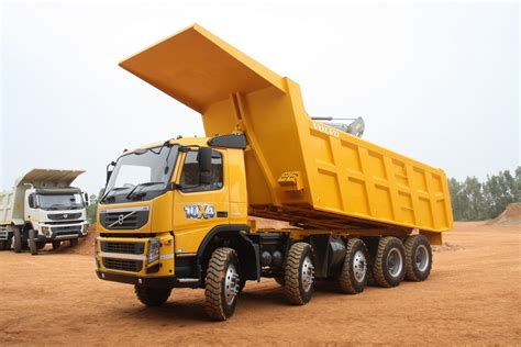 brand new volvo truck volvo fm480 10x4 dump truck launched in india