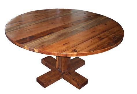 Rustic Round Dining Table Tedxumkc Decoration