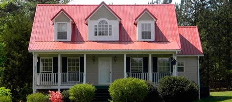 colors of metal roofs metal roofing colors and house facade choosing the right