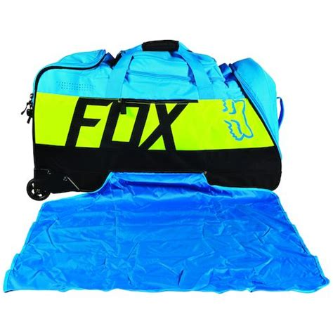 motocross gear closeout fox racing shuttle roller gear bag revzilla