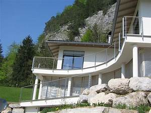 balkon und terasse mit metall gelander hillerzeder With französischer balkon mit garten unterstand bausatz