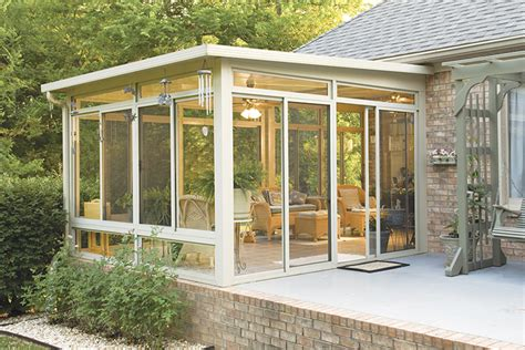Making A Sunroom by Creative Design And Concept Of 3 Season Room Homesfeed