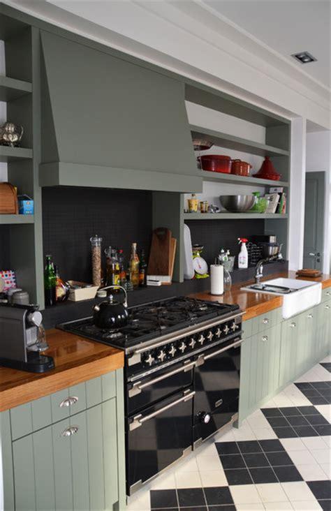 cuisine menuisier cuisine aménagée sur mesure style anglais contemporain