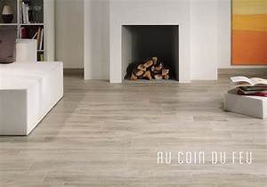 salon carrelage parquet With salon carrelage imitation parquet