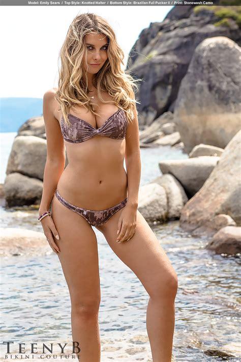 emily sears sexy outdoor bikini photoshoot hot  sexy