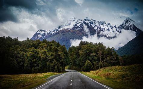 Mountain Road Inside The Jungle