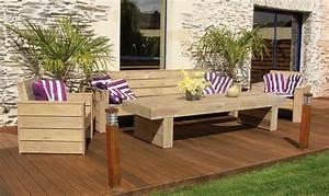 Gartenmöbel Lounge Holz : lounge gartenm bel aus holz jura oogarden ~ Orissabook.com Haus und Dekorationen