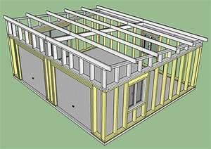 plan garage en bois maison francois fabie With plan de garage en bois