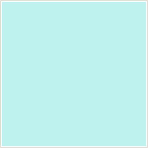 bcf1ed hex color rgb 188 241 237 aqua baby blue light blue mint tulip