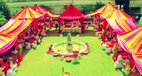 Garden Decoration India by Indian Weddings Decor