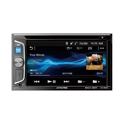 Usb Car Stereo by Genuine Alpine Ive W560e 6 1 Inch Din Bluetooth Dvd