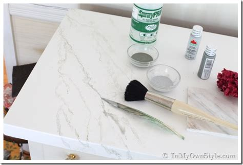 diy faux headboard faux carrara marble painting technique fo makeover