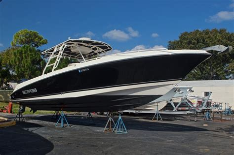 Used Scarab Sport Boats For Sale by Used 2010 Wellcraft 35 Scarab Offshore Sport Boat For Sale