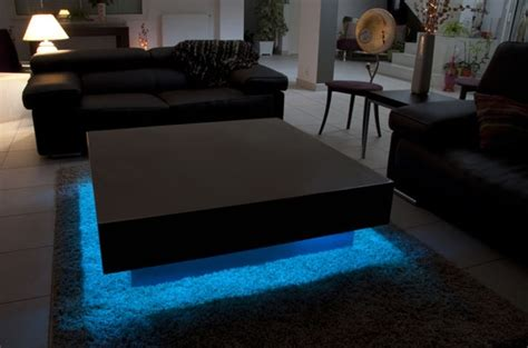table basse avec aquarium integre ezooq