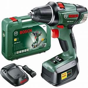 Bosch Psr 18 Li 2 : bosch power4all psr 18 li 2 18v cordless compact drill ~ Dailycaller-alerts.com Idées de Décoration