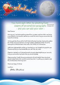 personalised letters from santa with free magical reindeer With write your own letter from santa