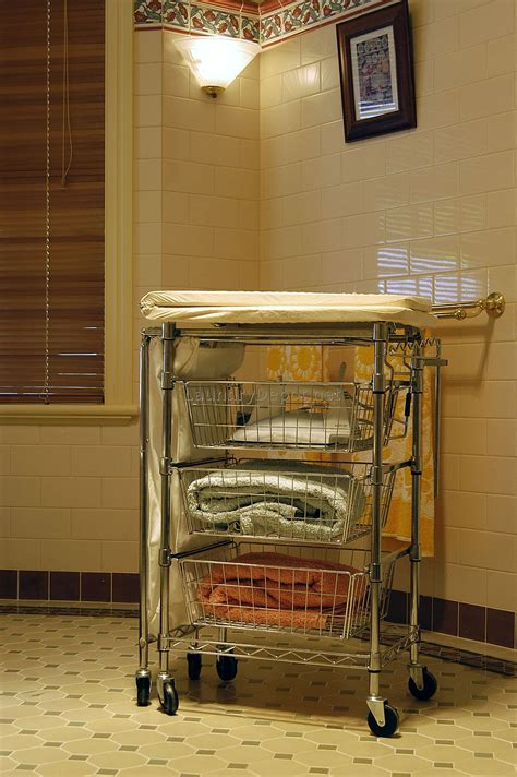 Laundry Room Carts 12 Mobile And Spacesavvy Ways To
