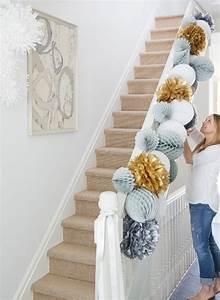 Deco Noel En Papier : decoration de noel en papier de soie ~ Melissatoandfro.com Idées de Décoration