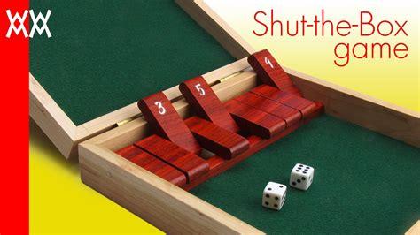 wood shut  box game  plans  video