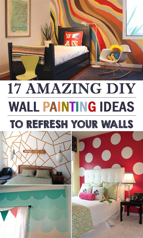 Painting Ideas Diy by 17 Amazing Diy Wall Painting Ideas To Refresh Your Walls