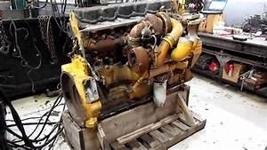 2005 Caterpillar C15 Acert Diesel Engine Running