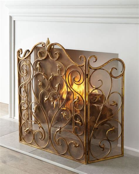 decorative fireplace screens 10 gorgeous fireplace screens for every home