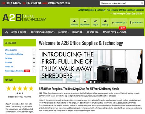 Office Supplies Companies by A2b Office Supplies Manchester Office Supplies Company