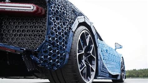 lego bugatti 1 1 this size lego technic bugatti chiron is drivable