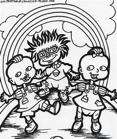 Coloring Cartoon Pages Network Printable Cartoons Characters