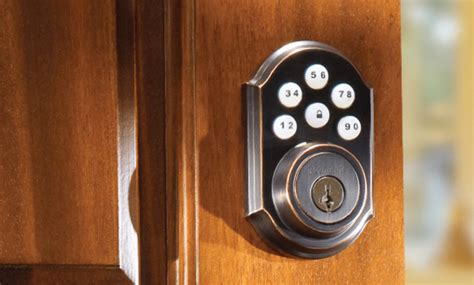 adt door lock home automation systems by adt security