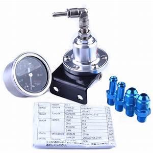 Universal Adjustable Style Fuel Pressure Regulator With