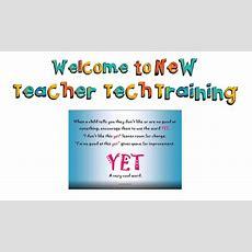 Introducing Granite's New Teacher Tech Training