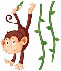Stickers Animaux De La Jungle : stickers bb singe achat stickers animaux de la jungle pour chambre enfant decore ta chambre ~ Mglfilm.com Idées de Décoration