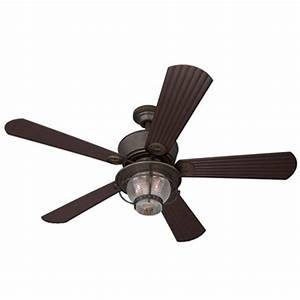 Harbor breeze ceiling fan light kit lowes : Harbor breeze in merrimack gilded bronze outdoor