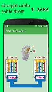 Rj45 Color Code Cable Wiring For Android