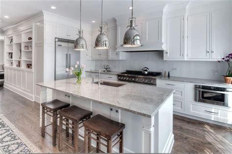 custom kitchen white full inset