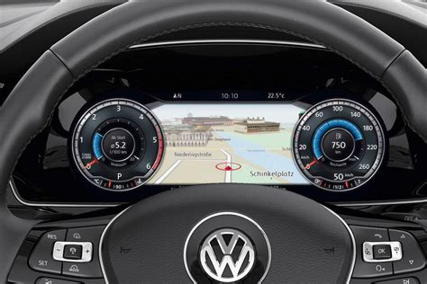 volkswagen dashboard is the new tft 12 3 inch screen in vw passat 2015