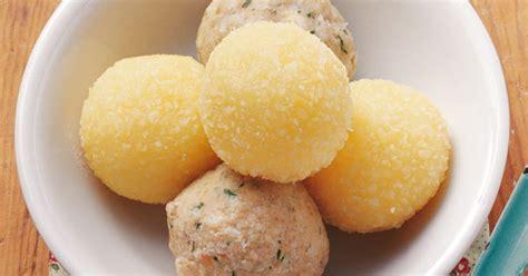 Kartoffelklöße »halb Und Halb« Rezept