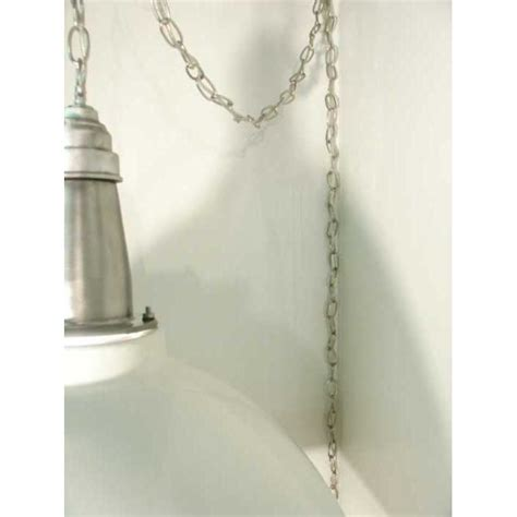 Ceiling Lamp White Industrial Pendant Swag