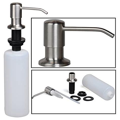 built in sink soap dispenser stainless steel built in pump kitchen sink dish soap