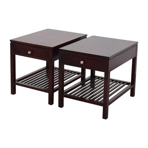 Tisch Dunkelbraun by 33 Stickley Stickley Brown Wood Side Table