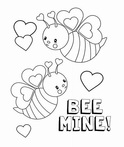 Coloring Pages February Valentines
