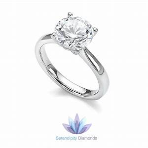 What does solitaire mean diamond rings de mystified for Wedding rings to go with solitaire engagement ring
